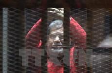 Ai Cập hủy bản án tù chung thân đối với cựu Tổng thống Morsi