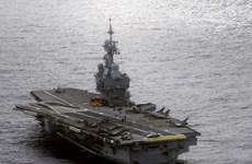 Mỹ điều tàu bảo vệ tàu Pháp tham gia chống IS ở Địa Trung Hải