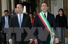 Chủ tịch nước đi thăm làm việc tại Milan và vùng Lombardia