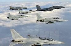 Lực lượng không quân Hàn-Mỹ tiến hành tập trận quy mô lớn