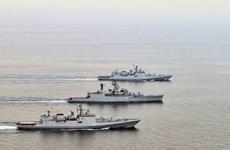 Ấn Độ, Nga sắp bắt đầu cuộc tập trận hải quân Indra Navy-16