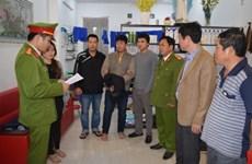 Khen thưởng lực lượng bắt được đối tượng cướp chi nhánh BIDV Huế