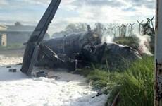 Máy bay quân sự Malaysia gặp nạn ở Penang, phi công thiệt mạng