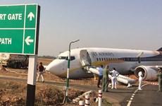 Ấn Độ: Máy bay chở khách trượt đường băng, 15 người bị thương