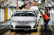 """Sản lượng xe của các nhà chế tạo """"xế hộp"""" lớn Nhật Bản tăng"""