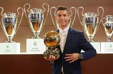 Nhìn lại bảng vàng thành tích của Cristiano Ronaldo trong năm 2016