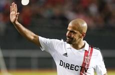 Juan Sebastian Veron bất ngờ tái xuất sau hai năm từ giã sân cỏ