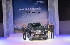 Toyota Fortuner 2017 ra mắt tại Việt Nam, giá từ 981 triệu đồng