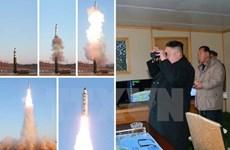Mỹ-Hàn Quốc-Nhật Bản lên án vụ phóng tên lửa của Triều Tiên
