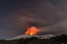 Nhóm quay phim của hãng tin BBC gặp nạn vì núi lửa phát nổ