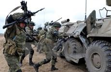 Nga tham gia tập trận chống khủng bố với lực lượng vũ trang Tajikistan