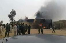 Máy bay quân sự lao xuống khu dân cư làm 4 người thiệt mạng ở Libya