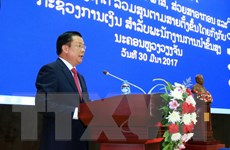 Việt Nam-Lào chia sẻ kinh nghiệm quản lý thuế, hải quan và kho bạc
