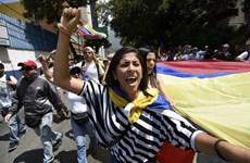 Venezuela: Phe đối lập biểu tình đòi tổ chức tổng tuyển cử sớm