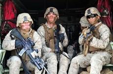 1.250 lính thủy đánh bộ Mỹ tới Australia để tham gia tập trận chung
