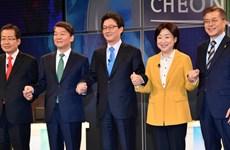 Bầu cử Tổng thống Hàn Quốc: Một ứng viên xin rút khỏi cuộc đua