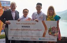Thí sinh Hà Nội chiến thắng cuộc thi tôn vinh ẩm thực Australia