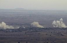 Israel tấn công doanh trại quân đội Syria ở Cao nguyên Golan