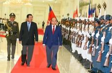 [Photo] Hoạt động của Thủ tướng Nguyễn Xuân Phúc tại Campuchia