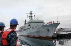 Hạm đội Hải quân Trung Quốc thăm cảng Davao của Philippines