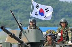 Hàn Quốc kiểm tra tình trạng sẵn sàng chiến đấu của các binh sỹ