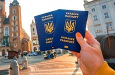 Liên minh châu Âu miễn thị thực cho các công dân Ukraine