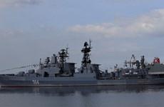 Hải quân Nga sẽ diễn tập chung với Trung Quốc-Ấn Độ-Nhật Bản