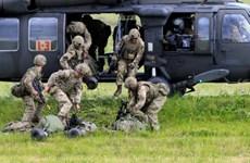 Binh sỹ Anh, Mỹ tham gia cuộc tập trận phòng thủ quy mô lớn của NATO