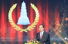 Toàn văn phát biểu của Chủ tịch nước tại Lễ trao Giải báo chí quốc gia