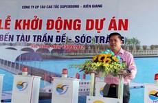 Sóc Trăng sớm đưa tuyến tàu cao tốc Trần Đề-Côn Đảo vào hoạt động