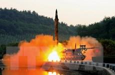 Tên lửa đạn đạo Triều Tiên có khoảng thời gian bay dài bất thường