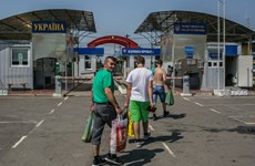 Ukraine sẽ siết chặt kiểm soát biên giới với các công dân Nga