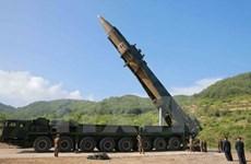 Mỹ: Triều Tiên đang phát triển tên lửa đạn đạo có độ chính xác cao