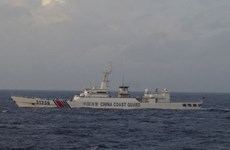 Các tàu hải cảnh của Trung Quốc lại đi vào lãnh hải Nhật Bản