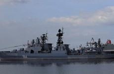 Nga lên tiếng về cuộc tập trận chung với hải quân Trung Quốc