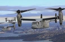 Máy bay Osprey sẽ tham gia cuộc tập trận chung Mỹ-Nhật Bản