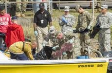 [Video] Tìm kiếm trực thăng Mỹ rơi tại vùng biển ngoài khơi Hawaii