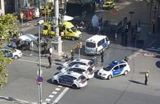 Xe ôtô lao vào đám đông ở Barcelona làm nhiều người bị thương