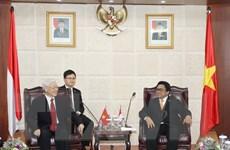 Tổng Bí thư hội kiến Chủ tịch Hội đồng đại biểu địa phương Indonesia
