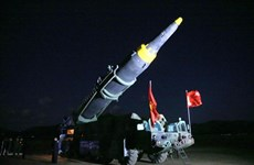 Chuyên gia: Triều Tiên muốn chứng tỏ khả năng tên lửa vươn tới Guam