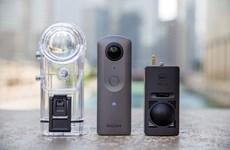 Ricoh ra mắt mẫu camera có khả năng quay video 360 độ 4K
