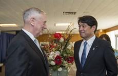 Bộ trưởng Quốc phòng Nhật Bản-Mỹ nhất trí tăng sức ép với Triều Tiên