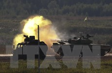 Hàng nghìn binh sỹ Nga và Belarus tham gia tập trận chiến thuật