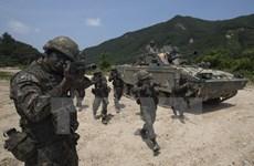 Quân đội Hàn Quốc diễn tập sau khi Triều Tiên phóng tên lửa