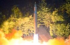Tên lửa Triều Tiên bay được 3.700 km và rơi xuống Thái Bình Dương