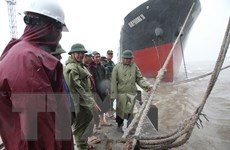 Bão số 10 giật cấp 15 trên vùng biển các tỉnh từ Hà Tĩnh đến Quảng Trị
