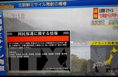 Quân đội Mỹ: Triều Tiên đã phóng tên lửa đạn đạo tầm trung