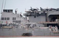 Hải quân Mỹ cách chức hai chỉ huy cấp cao sau các vụ va chạm tàu
