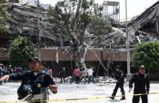 [Video] Cảnh tượng hỗn loạn khi xảy ra động đất khủng khiếp ở Mexico