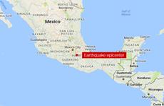 Động đất mạnh 7,1 độ Richter làm rung chuyển miền Nam Mexico